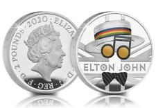 1oz Elton John 2020 UK One Ounce Silver Proof Coin Limited Edition 7500 PreOrder