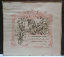 Vintage 1918 Ww1 Wwi Canadian Disabled Discharged Document Richard S Currie
