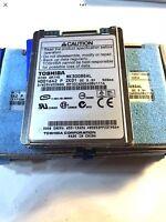 "Toshiba 1.8"" 30GB MK3008GAL ZIF Hard Drive for Apple iPod Video Classic 5th 5.5"