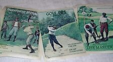 2 Rolls York Wallpaper Border The Masters Golf Vintage Style Poster