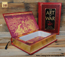 Hollow Book Safe - The Art of War - Leather Bound Book Safe