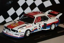 BMW 3.0 CSL Sepp Manhalter #5 Havirov 1977 1:18 Minichamps 155772605 neu & OVP