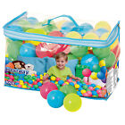 Bestway Fisher Price Small Plastic Multi-Colored Play Balls, 100 Count | 93510E
