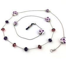 Women Casual Beaded Eyeglass Rope Glasses Neck Strap Glasses Chain Holder Cord