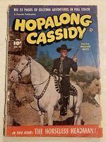 Hopalong Cassidy #54 Comic Book Fawcett Western Photo Cover William Boyd!!!!