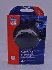 SAN DIEGO CHARGERS NFL FLASHING E BADGE LANYARD W/BATTERIES BRAND NEW IN BOX A-1
