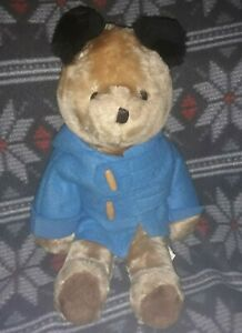 "Vintage Eden Toys PADDINGTON 18"" Plush Bear  No Boots Super Cute! Toy w/ Hood"