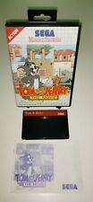 SEGA Master System Spiel TOM AND JERRY THE MOVIE RetroGame CIB