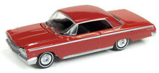 Auto World Ford Mustang GT 1967 Blanc Brillant avec Rouge Rocker lignes 64182 B