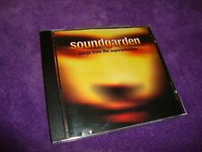 SOUNDGARDEN rare cd SONGS FROM THE SUPERUNKNOWN chris cornell   free US shipping