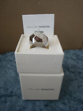 JEAN PAUL GAULTIER For ALTELIER SWAROVSKI Reverse Ring 55 NIB