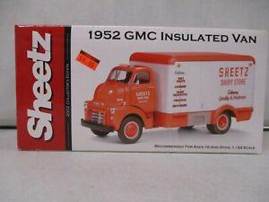 First Gear 1952 Sheetz GMC Insualted Van 1/34
