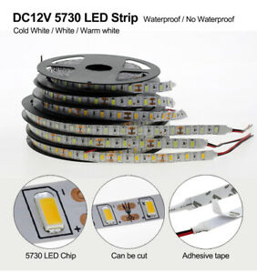5630 12V 300Leds SMD Waterproof Led Strip Lights Lamp Ultra Bright 5M - 20M