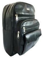 e3936cd70215 Ladies Black Soft Real Leather Backpack Rucksack Bag Womens Backpacks Bags  QL192