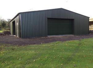 Pre-Fabricated Steel Portal Frame Building Industrial Metal Pre-Fab Store House