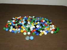 VINTAGE  OLD TOY 214 MIXED LOT OF MARBLES
