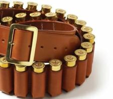 Brady Leather Closed Loop Cartridge Belt - 12 Gauge - Medium