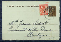 Belgio 1938 Mi. K 29 I Intero postale 100% Usato, 70 C, Leopoldo III