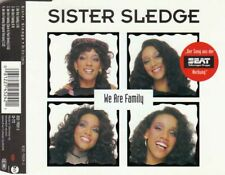 SISTER SLEDGE We Are Family MCD 1996 Sure Is Pure Remix NEUWARE Disco/Funk Hit !