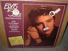 "ELVIS PRESLEY 50th anniversary ( rock ) - SEALED - 10"" -"