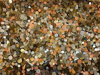Unsearched Lot of 1 Lb Pound Better Value of World Foreign Coins Free shipping !