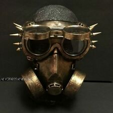 Steampunk Rivet Vintage Goggles & Burning Men Cosplay Respirator