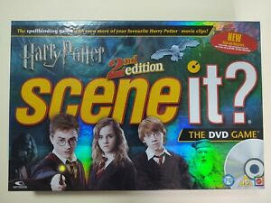 Harry Potter Scene It? 2nd Edition The DVD Board Game