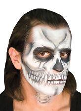 Ez Mu Voo Doo Skull Sponge Puff Powder Brush Makeup Accessory Kit Halloween