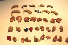 PRICE SLASHED !! Lot 10 Hearing Aid Aids Parts or Repair CIC ITC ITE BTE !GIFT