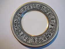 """Wedgwood Black Florentine Bread & Butter Plate s W4312 6 1/8"""""""