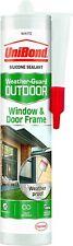 UniBond Outdoor Window and Door Frame Sealant, White