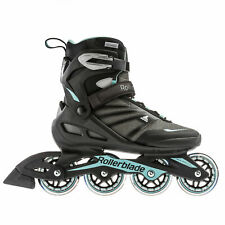 Rollerblade Zetrablade Women's Inline Skates - Black/Light Blue - 7
