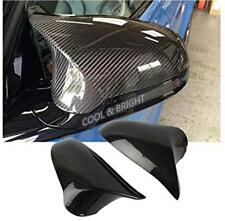 For BMW F80 M3 F82 F83 M4 2014 2015 Sticker LHD Real Carbon Fiber Mirror Cover