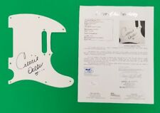 CELINE DION SIGNED FENDER TELECASTER GUITAR PICKGUARD CERTIFIED WITH JSA COA LOA
