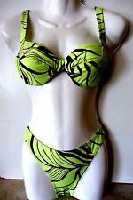 Bügel-Bikini von Goldfish,Größe 38 C,in hellgrün-braun
