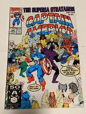 Captain America #390 August 1991 Marvel Comics