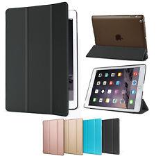 Funda Cuero PU Carcasa Delgado Plegable Para iPad 2/3/4 MINI 1/2/3 Air 2+Regalo
