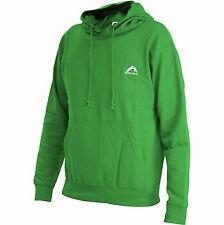 More Mile Fleece Hoody Green Mens Womens Hooded Sweatshirt XS-XL