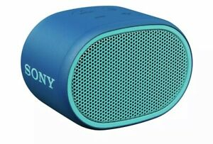 Sony SRS-XB01/W Bluetooth Compact Portable Speaker Blue Built-in Mic Brand New