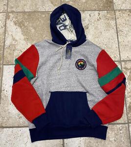 Polo Ralph Lauren Respect The Wilderness Hoodie Hooded Sweatshirt Medium New