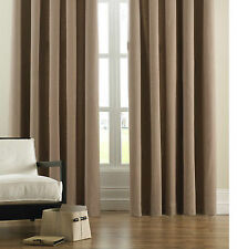 Faux Suede Living Room Curtains & Blinds