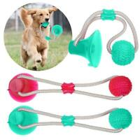 Pet Dog Toy Floor Suction Cup with Ball for Pet Teeth Cleaning Chewing Playing