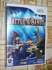 """ BATTLE OF THE BANDS "" NINTENDO WII"
