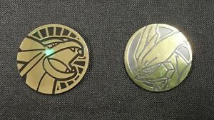 Pokemon TCG - White Kyurem & Salamence Special Collection Box Coins
