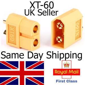 XT60 Connectors male female pair buy options lipo charger battery plug xt60 RC
