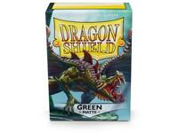 Green Matte 100 ct Dragon Shield Sleeves Standard Size FREE SHIPPING! 10% OFF 2+