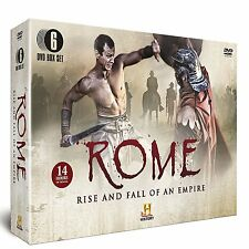 Rome The Rise and Fall of an Empire 6 DVD Box Set Spartacus Julius Caesar +more