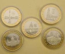 Architektur Bi-Metall Medaillen aus Deutschland
