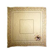 80s Pierre Cardin floral 100% pure silk sqaure scarf women summer shawl P7024100