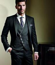 Custom Made Mens Wedding Suits Groom Tuxedos Best Man Suits Busines Suits Blazer